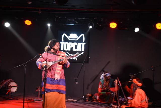 Baul performance at TOPCAT CCU